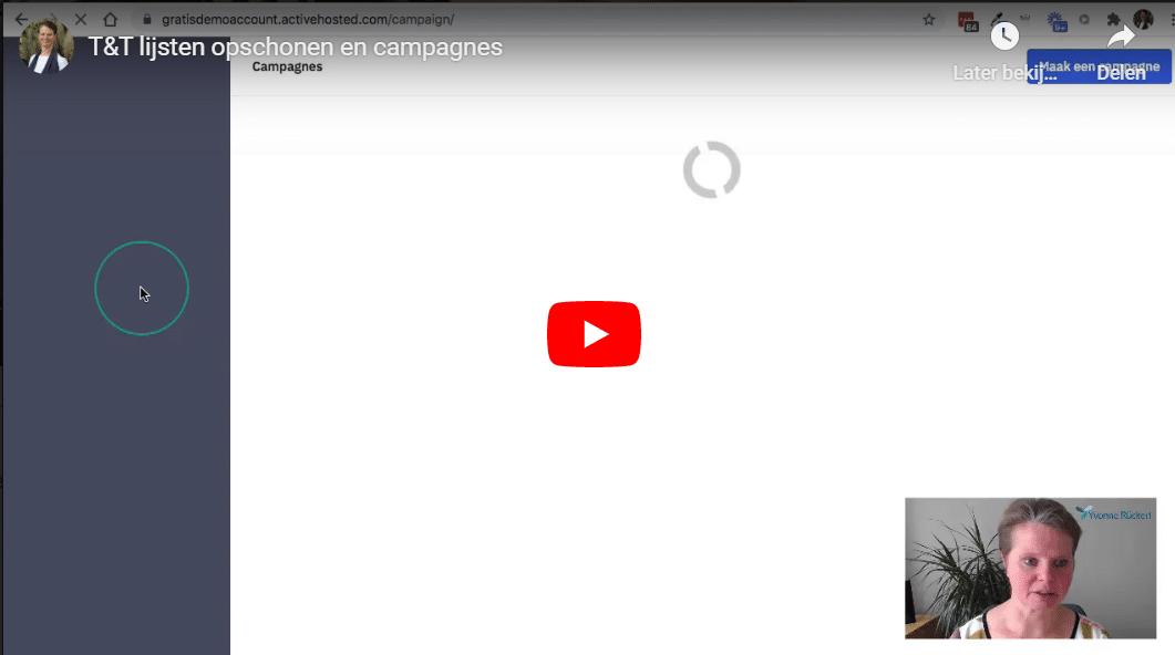 T&T Lijsten opschonen en campagnes